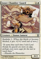 Saviors of Kamigawa Foil: Inner-Chamber Guard