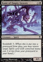 Saviors of Kamigawa Foil: Kami of Empty Graves