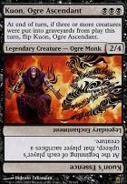 Saviors of Kamigawa Foil: Kuon, Ogre Ascendant