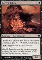 Saviors of Kamigawa Foil: Kuro's Taken