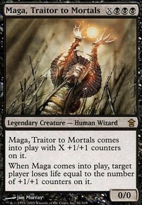 Saviors of Kamigawa: Maga, Traitor to Mortals