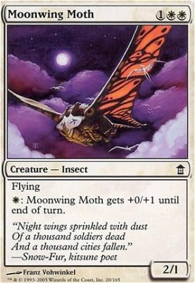 Saviors of Kamigawa Foil: Moonwing Moth