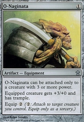 Saviors of Kamigawa: O-Naginata
