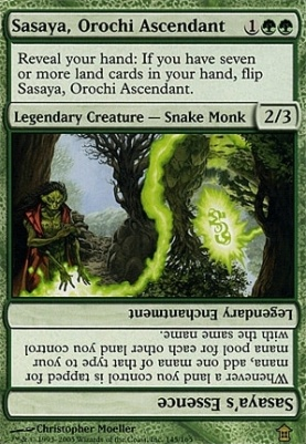 Saviors of Kamigawa Foil: Sasaya, Orochi Ascendant