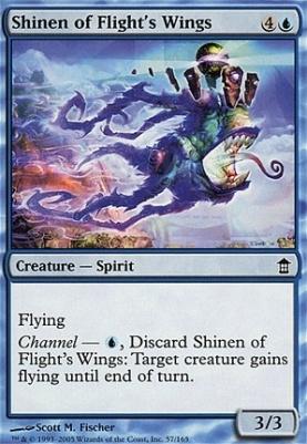 Saviors of Kamigawa Foil: Shinen of Flight's Wings