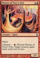 Saviors of Kamigawa Foil: Shinen of Fury's Fire