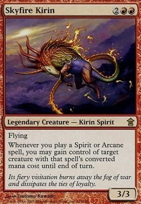 Saviors of Kamigawa: Skyfire Kirin