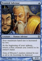 Saviors of Kamigawa Foil: Trusted Advisor
