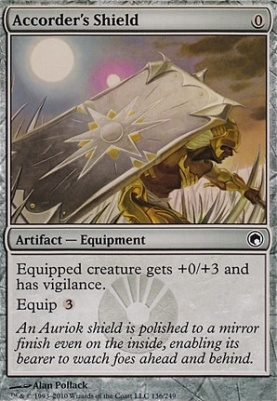 Scars of Mirrodin: Accorder's Shield