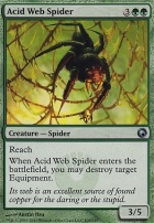 Scars of Mirrodin Foil: Acid Web Spider