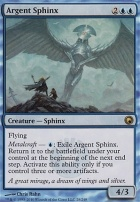 Scars of Mirrodin Foil: Argent Sphinx
