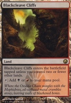 Scars of Mirrodin: Blackcleave Cliffs