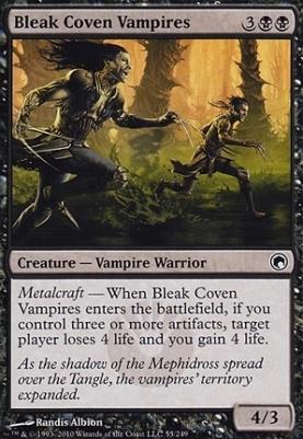 Scars of Mirrodin Foil: Bleak Coven Vampires