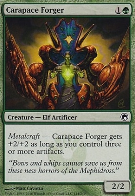Scars of Mirrodin: Carapace Forger