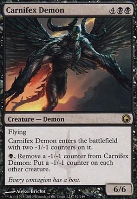 Scars of Mirrodin: Carnifex Demon
