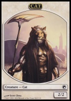 Scars of Mirrodin: Cat Token