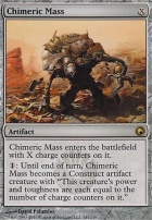 Scars of Mirrodin: Chimeric Mass