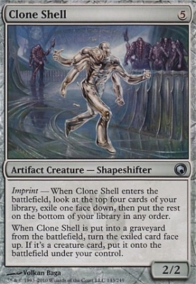 Scars of Mirrodin Foil: Clone Shell
