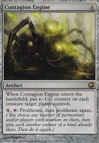 Scars of Mirrodin Foil: Contagion Engine