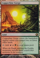 Scars of Mirrodin Foil: Copperline Gorge