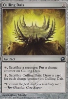 Scars of Mirrodin Foil: Culling Dais