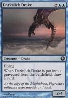 Scars of Mirrodin Foil: Darkslick Drake
