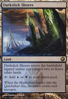 Scars of Mirrodin: Darkslick Shores