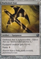 Scars of Mirrodin Foil: Darksteel Axe