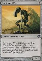 Scars of Mirrodin: Darksteel Myr