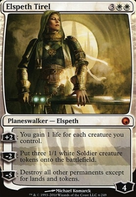 Scars of Mirrodin: Elspeth Tirel