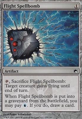Magic The Gathering Cards | Scars of Mirrodin | Flight Spellbomb |