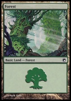 Scars of Mirrodin: Forest (246 A)
