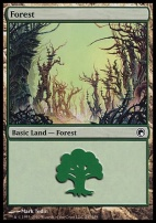 Scars of Mirrodin: Forest (247 B)