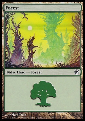 Scars of Mirrodin: Forest (248 C)