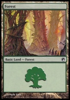 Scars of Mirrodin: Forest (249 D)