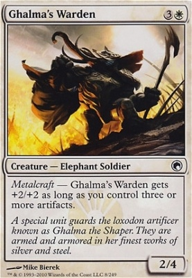 Scars of Mirrodin: Ghalma's Warden