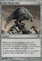 Scars of Mirrodin Foil: Glint Hawk Idol