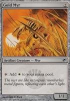 Scars of Mirrodin: Gold Myr