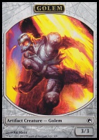 Scars of Mirrodin: Golem Token