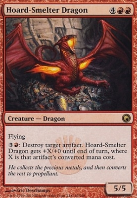 Scars of Mirrodin: Hoard-Smelter Dragon