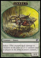 Scars of Mirrodin: Insect Token