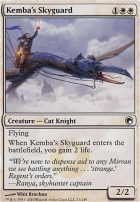 Scars of Mirrodin: Kemba's Skyguard