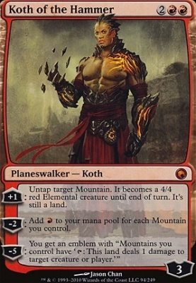 Scars of Mirrodin: Koth of the Hammer