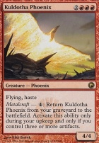 Scars of Mirrodin Foil: Kuldotha Phoenix