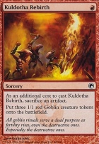Scars of Mirrodin: Kuldotha Rebirth