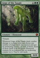 Scars of Mirrodin: Liege of the Tangle
