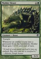 Scars of Mirrodin Foil: Molder Beast