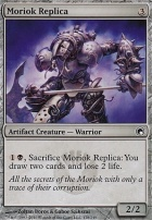 Scars of Mirrodin Foil: Moriok Replica
