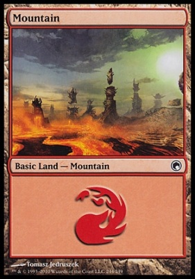 Scars of Mirrodin: Mountain (244 C)