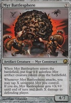 Scars of Mirrodin Foil: Myr Battlesphere